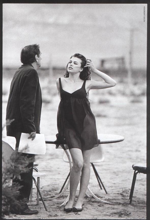 Архивная съёмка: Мила Йовович для Vogue, 1990. Изображение № 5.