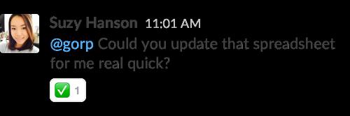 В Slack появились реакции с эмодзи . Изображение № 4.