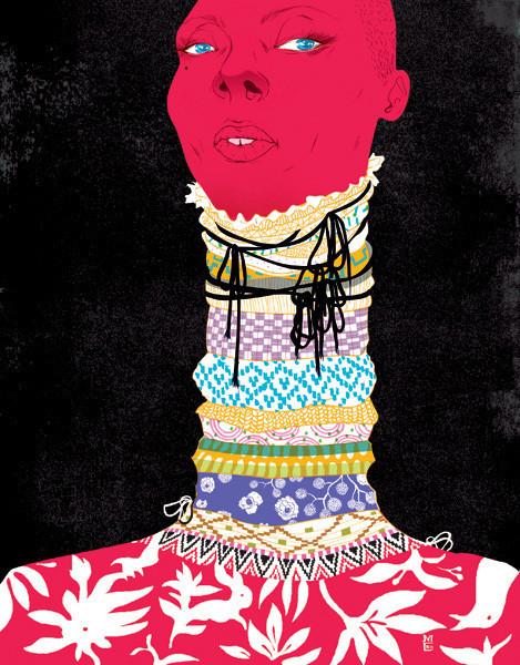 Рисунки американского иллюстратора Марко Шина.. Изображение № 4.