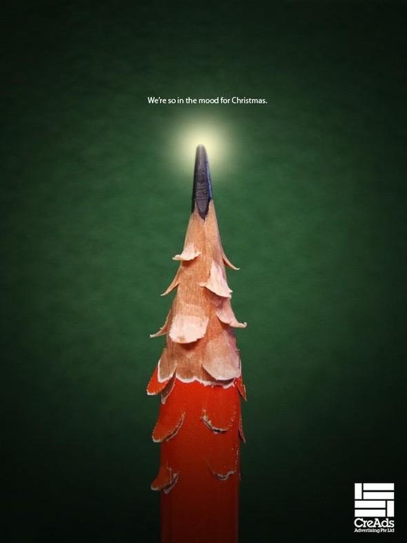69 рождественских рекламных плакатов. Изображение № 15.