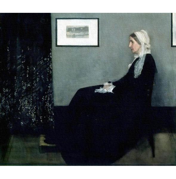 «Композиция в сером и чёрном: Портрет матери художника» Джеймса Макнилла . Изображение № 4.