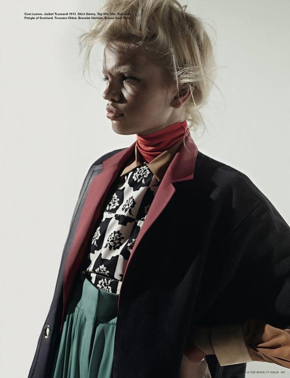 Daphne Groeneveld для i-D Spring. Изображение № 10.