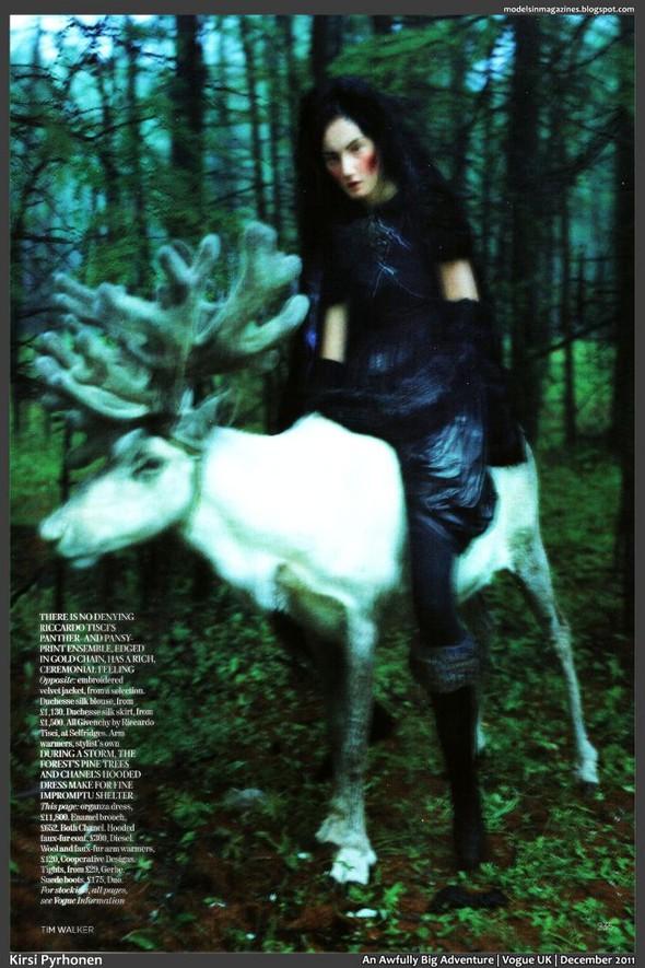 Съёмка: Тим Уокер для британского Vogue. Изображение № 16.