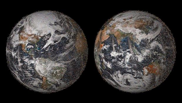 NASA опубликовало «глобальное селфи Земли». Изображение № 1.