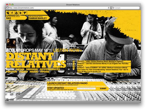 Видео: Nas & Damian Marley — «As We Enter». Изображение № 2.