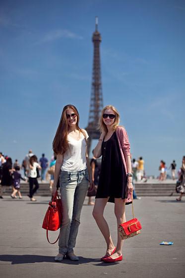 Уличный стиль на Неделе высокой моды в Париже. Изображение № 67.