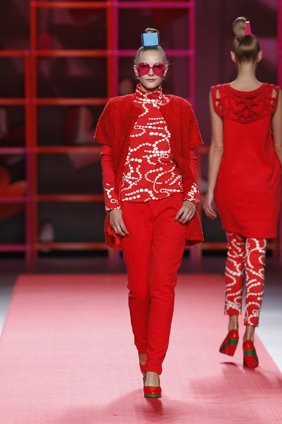 Madrid Fashion Week A/W 2012: Agatha Ruiz de la Prada. Изображение № 13.