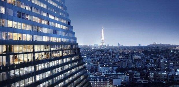 В Париже согласились строить небоскрёб-треугольник. Изображение № 12.