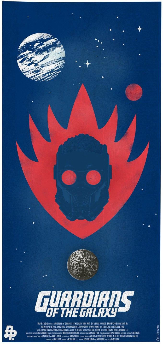 Опубликованы 44 фанатских постера к «Стражам Галактики». Изображение № 11.