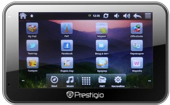 Автомобильный навигатор Prestigio с ОС Android. Изображение № 2.