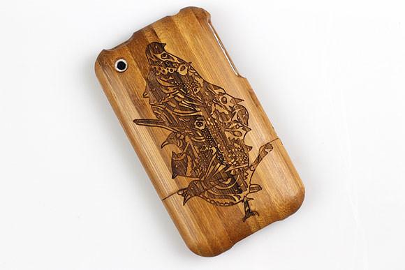 Деревянные корпуса для iPhone. Изображение № 10.