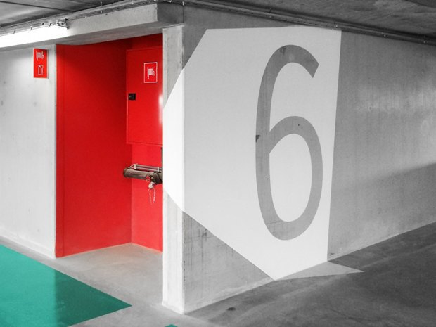 Архитектура дня: парковка сперфорацией вБельгии. Изображение № 11.