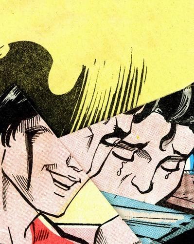Зловещие и мрачные ретро-иллюстрации, переделанные из детских комиксов. Изображение № 7.