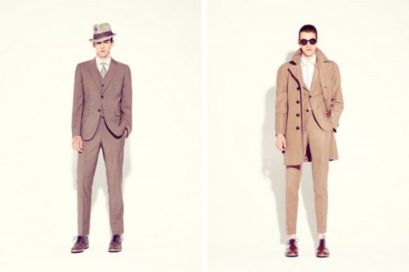 Новые мужские лукбуки Louis Vuitton, Marc Jacobs и Fred Perry. Изображение № 29.