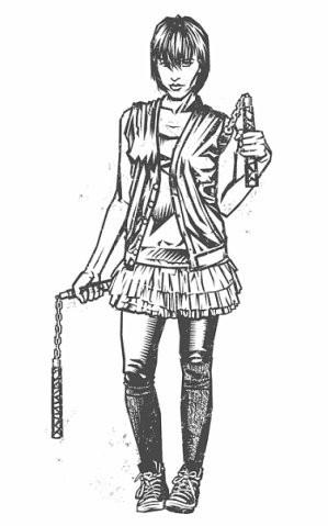 Девушки с оружием от Frank Barbara. Изображение № 40.