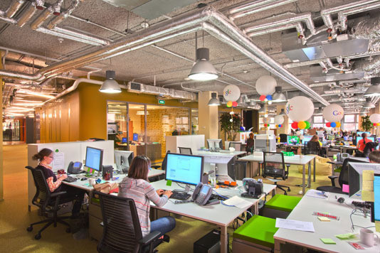 Google Moscow Office (арх. бюро CAMENZIND EVOLUTION) Архитектор: Т. Руэгг. Изображение №19.
