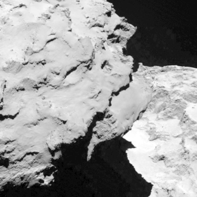 Фото дня: первые снимки кометы с близкого расстояния. Изображение № 4.