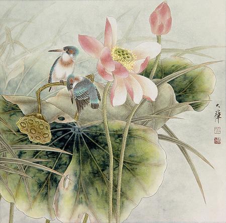 Птицы ицветы. Изображение № 5.