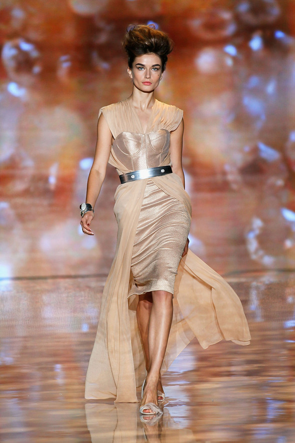 New York Fashion Week: Badgley Mischka Spring 2012. Изображение № 19.