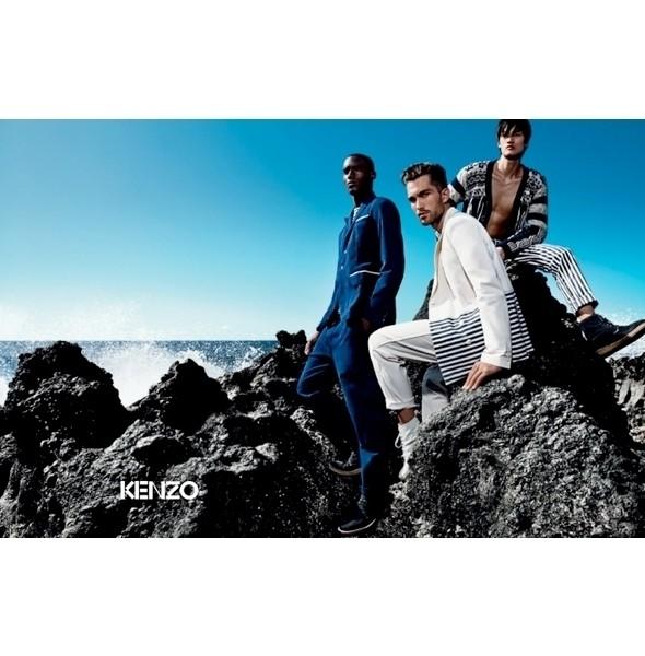 Изображение 40. Рекламные кампании: Calvin Klein White Label, Enrico Coveri и Kenzo.. Изображение № 40.