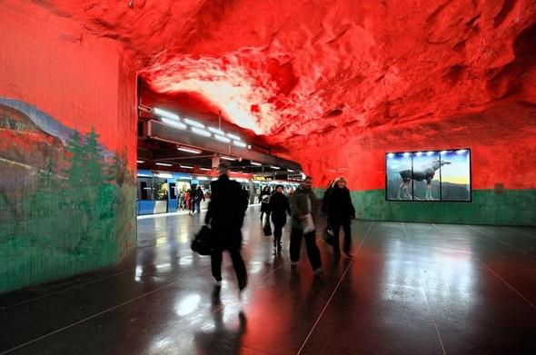 Шведский метрополитен. Изображение № 16.