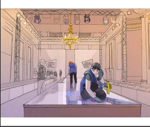 Изображение 28. Что происходит, когда иллюстратора пускают на модный показ.. Изображение № 24.