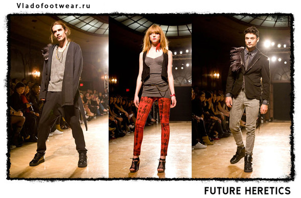 Vladofootwear & Future Heretics Показ 2009. Изображение № 13.
