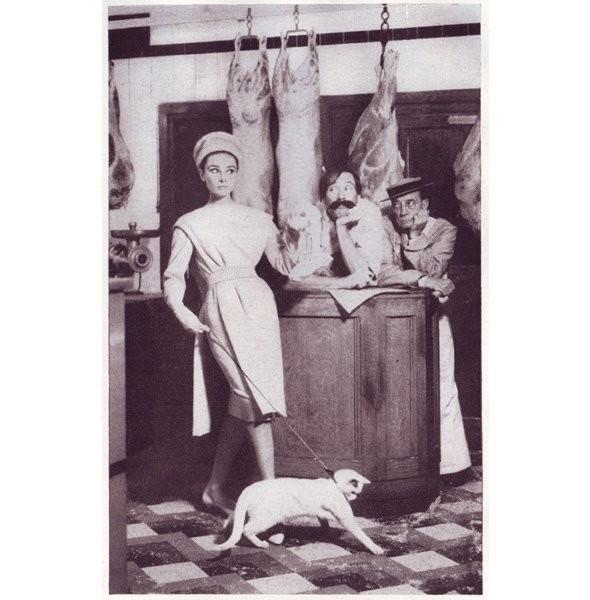 Архивная съёмка: Одри Хепберн для Harper's Bazaar, 1959. Изображение № 9.