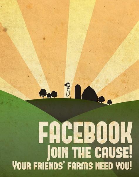 Социальные сети в постерах. Изображение № 4.
