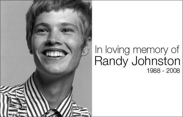 R. I. P. Randy Johnston. Изображение № 1.