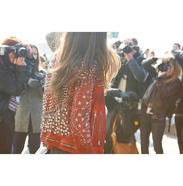 Изображение 54. На полях: 10 тенденций уличного стиля с прошедших недель моды.. Изображение № 54.