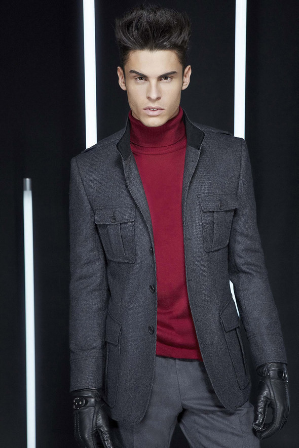 Изображение 30. Лукбуки: Bergdorf Goodman, Lagerfeld и Armani Exchange.. Изображение № 29.