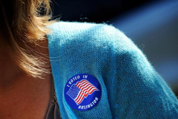 100 лет выборов в документальных фотографиях. Изображение № 132.