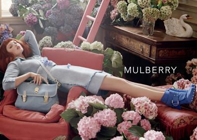 Изображение 4. Mulberry рекламная компания весна-лето 2011.. Изображение № 4.