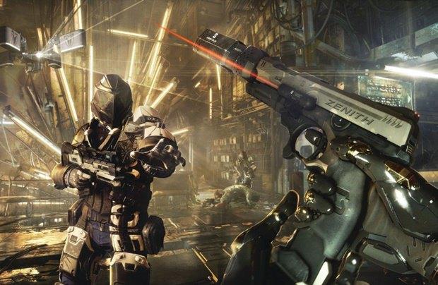 «Утекли» скриншоты неанонсированной игры Deus Ex: Mankind Divided. Изображение № 1.