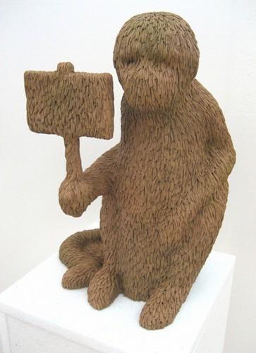 """""""Меховые"""" скульптуры из керамики, резины и бронзы. Изображение № 7."""