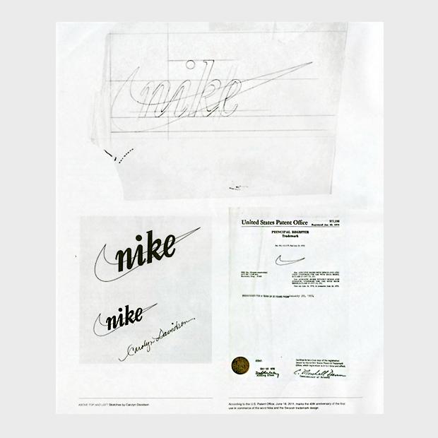 Как логотип Nike выглядел на стадии концепта. Изображение № 3.