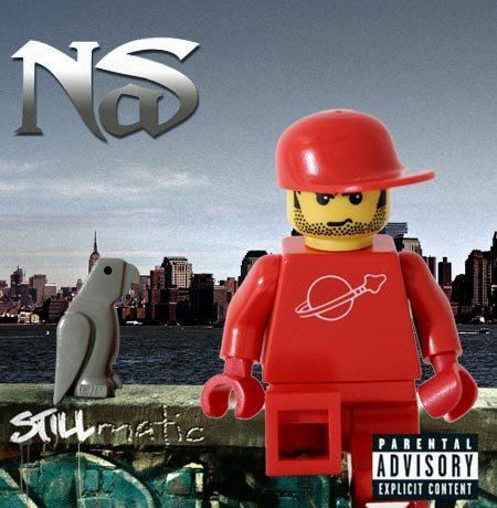 20 Обложек хип-хоп альбомов изLego. Изображение № 22.