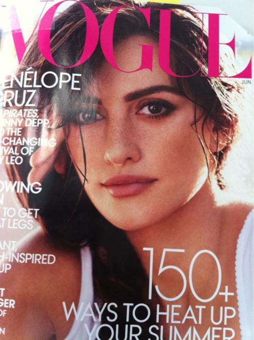Изображение 3. Обложки Vogue: Америка, Китай и Россия.. Изображение № 1.