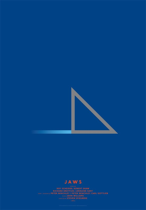 Дизайнер переделал постеры кинохитов в минималистском стиле. Изображение № 4.