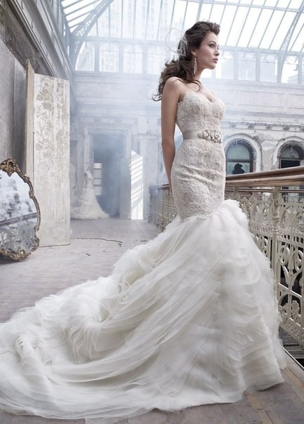 Lazaro Bridal Collection 2012. Изображение № 5.