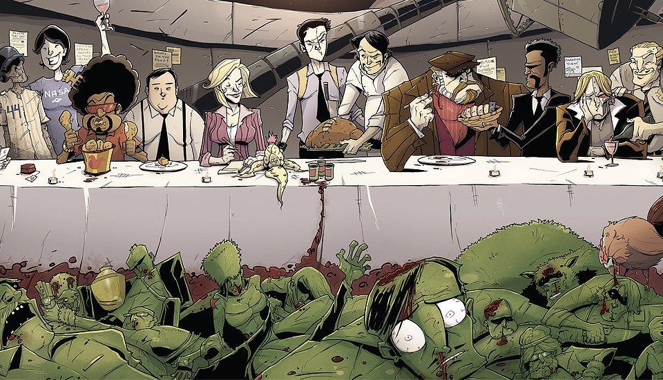 Как сделать захватывающий детективный комикс о еде. Изображение № 3.