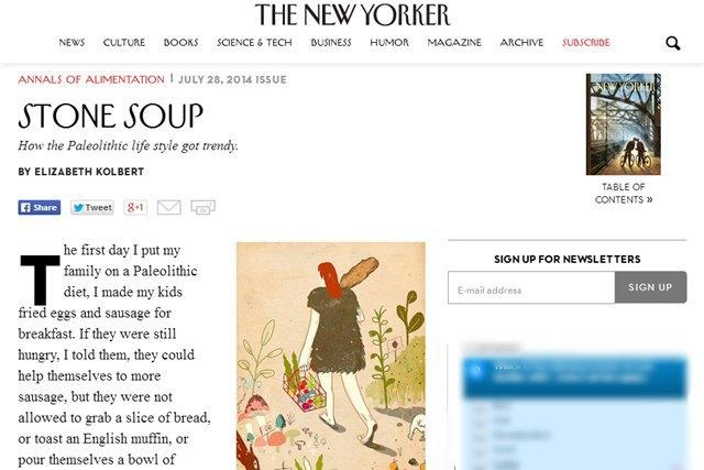 Новая версия сайта The New Yorker. Изображение № 3.