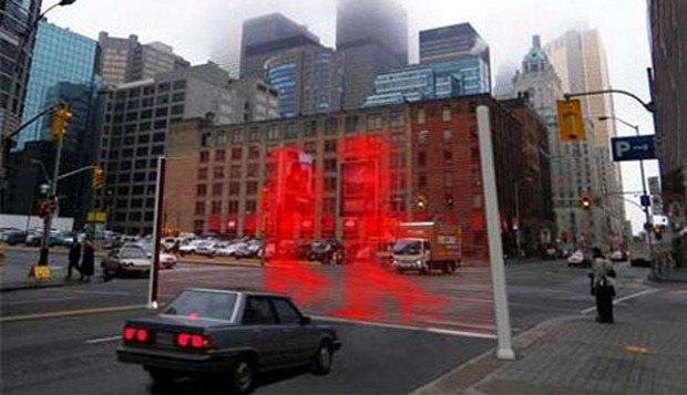 Светофор-голограмма. Изображение № 2.