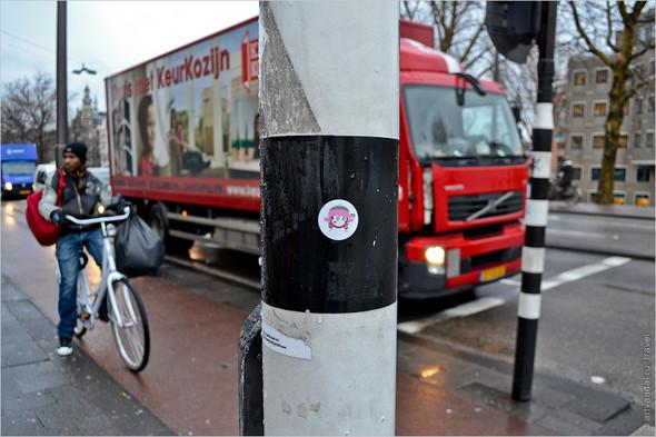 Стрит-арт и граффити Амстердама, Нидерланды. Изображение № 9.