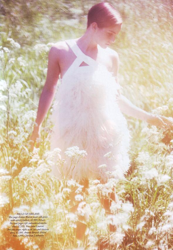 Съёмка: Эмма Уотсон в британском Harper's Bazaar. Изображение № 6.