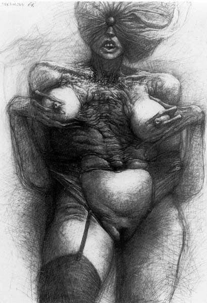 Архив работ Ждислава Бексински. Изображение № 25.