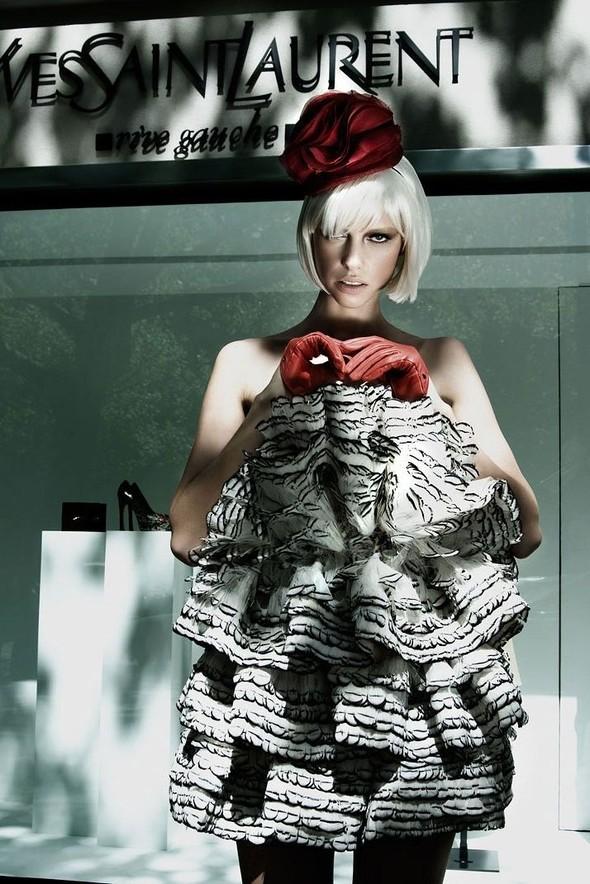 Съёмка: По магазинам с Masha Rudenko 4 Qvest Magazine Fall 2011. Изображение № 1.