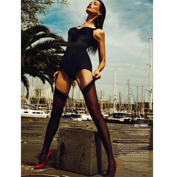 5 новых съемок: Dossier, Elle, V и Vogue. Изображение № 27.