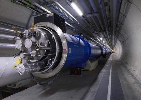 Наиюль намечен запуск «Большого адронного коллайдера». Изображение № 1.